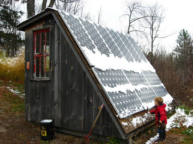 Solar Tool Shed