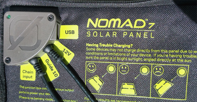 Nomad 7 Output Ports