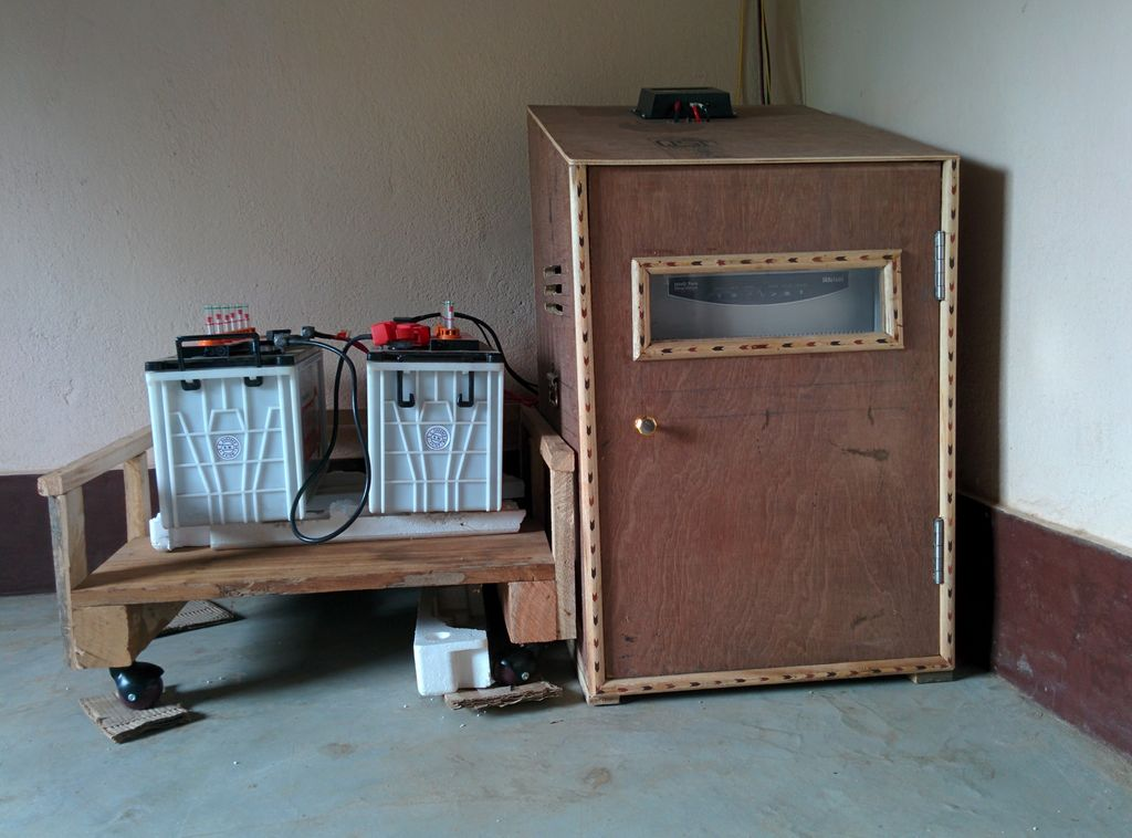 Battery and Inverter Stand