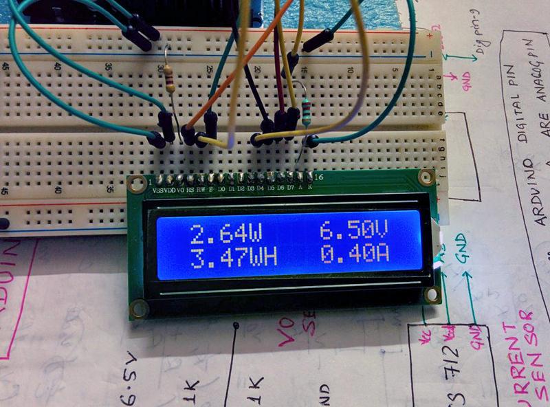 DIY energy meter