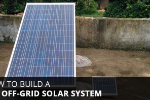 DIY Off-Grid Solar System