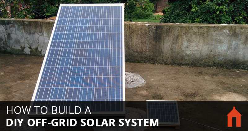 9 Steps To Build A Diy Off Grid Solar Pv System Walden Labs