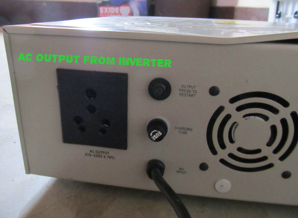 Inverter AC output