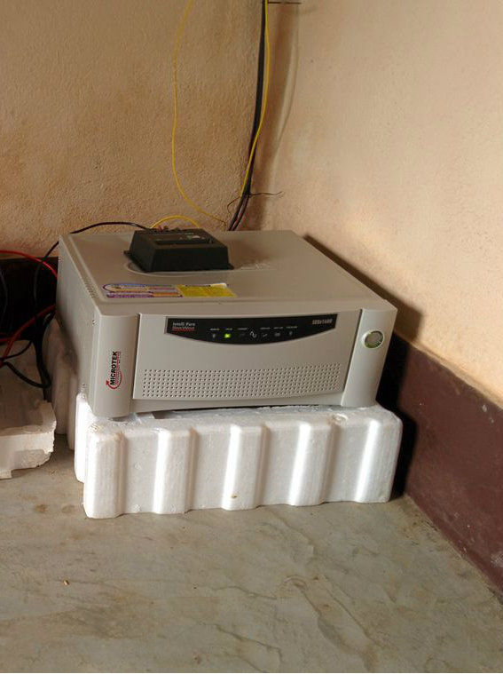 A 1600 VA pure sine wave inverter