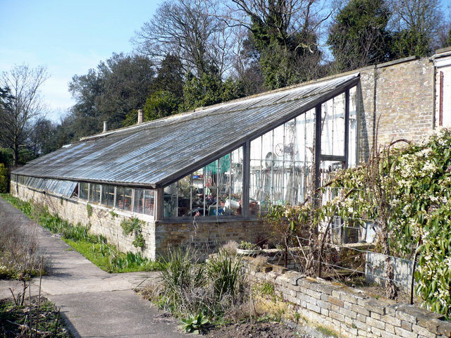 A lean to greenhouse