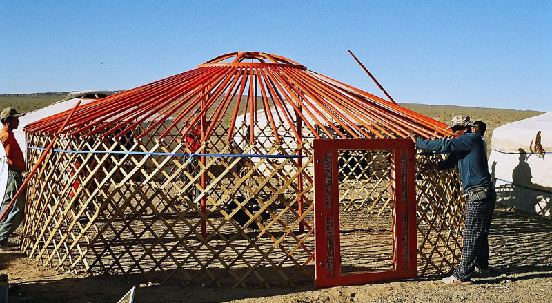 Yurt construction