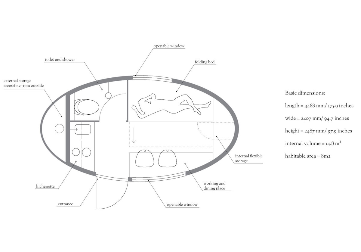 Ecocapsule-Layout