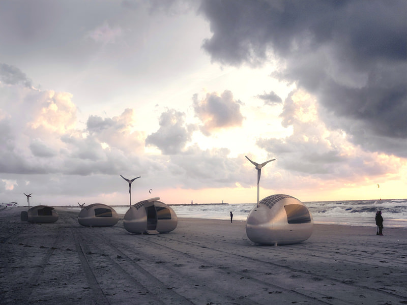Ecocapsule Wind Turbine