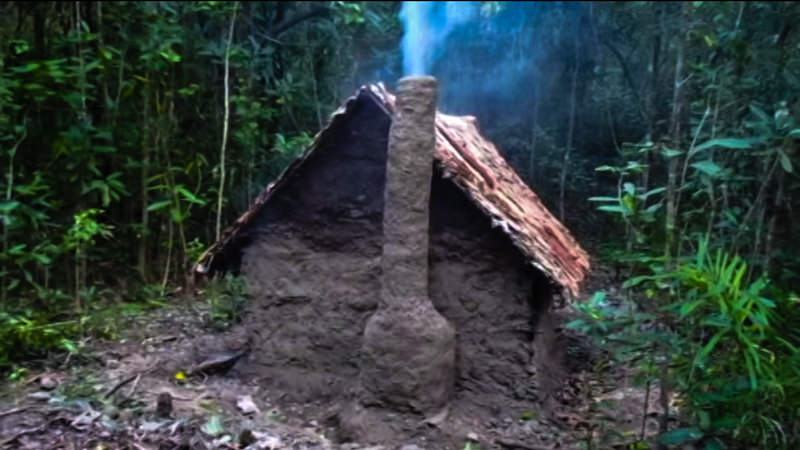 Primitive Shelter Chimney