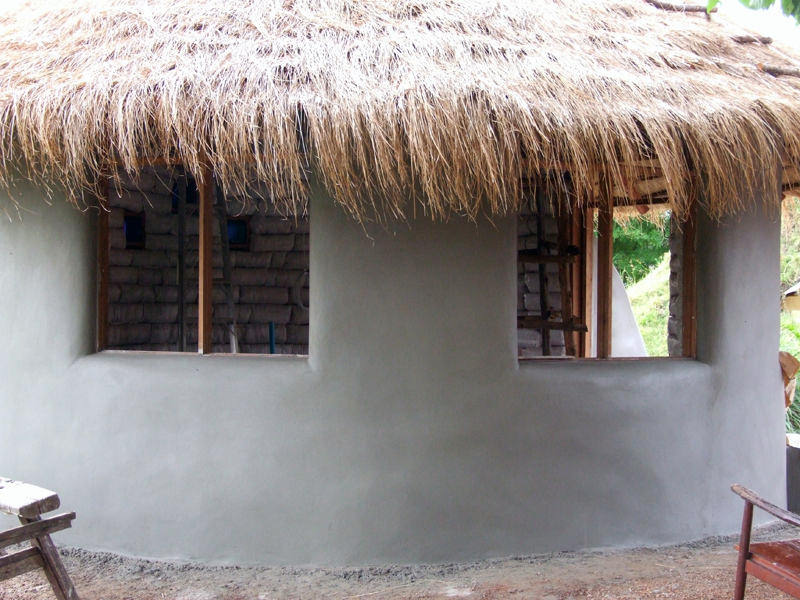 How To Build An Earthbag Roundhouse Walden Labs