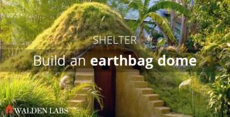 Build an earthbag dome