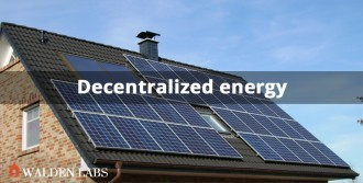 Decentralized energy