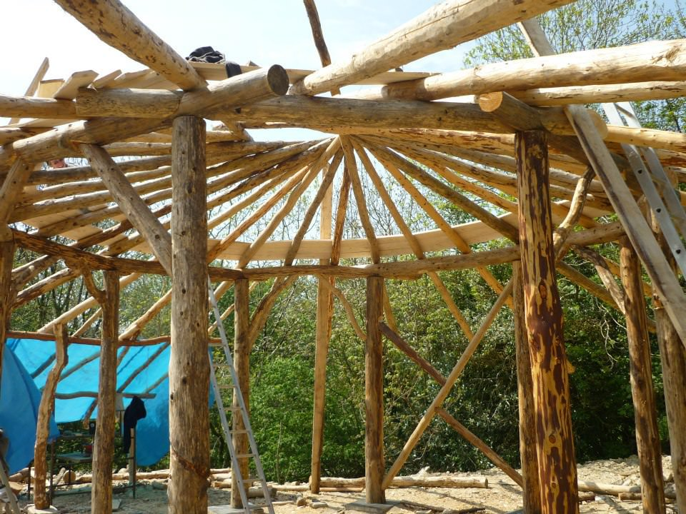 Natural home rafters