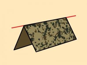 Basic-A-Frame-tarp-shelter