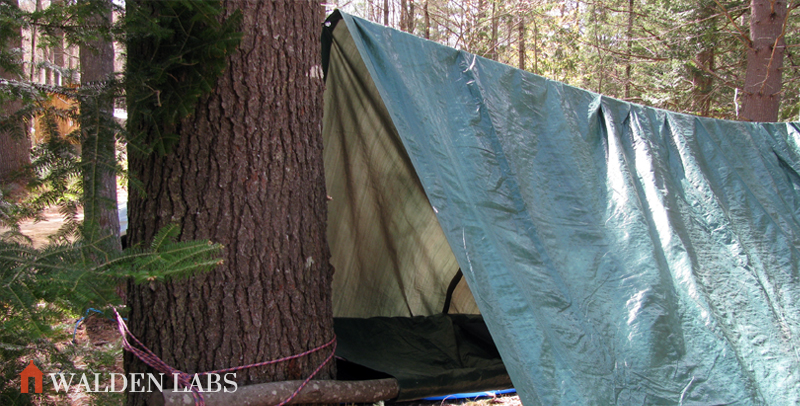 15 Tarp Shelter Designs