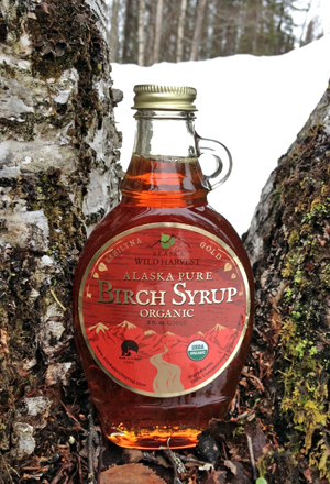 Kahiltna Gold Birch Syrup from Alaska. You can buy it here.
