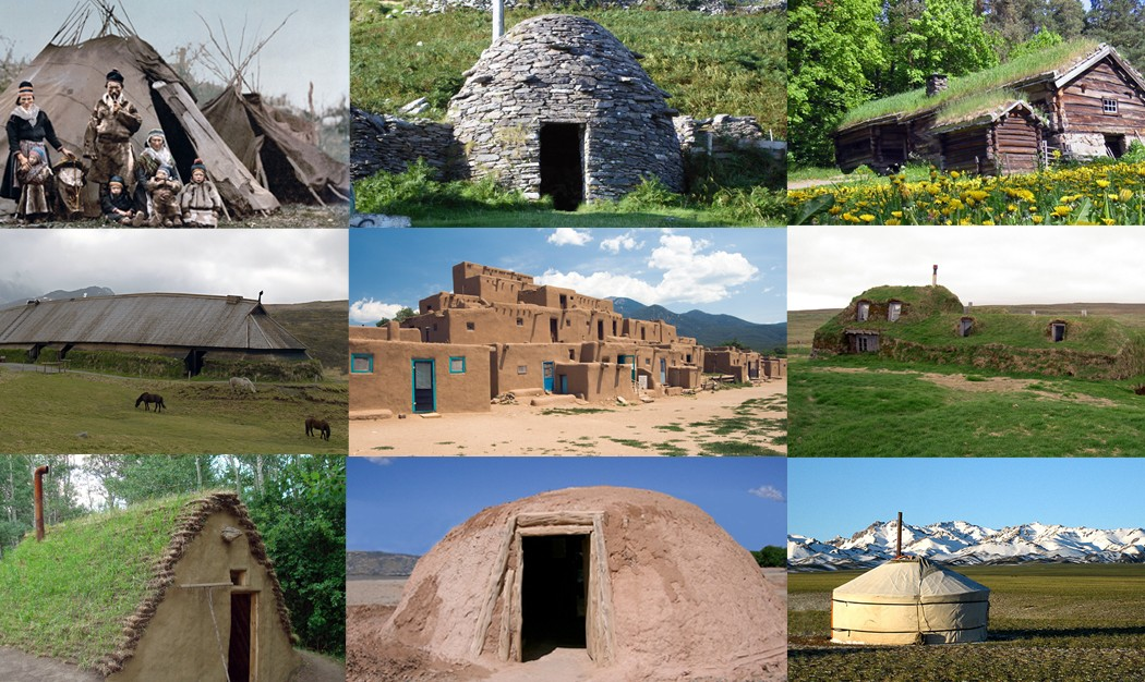 15 ancient house designs that you can build really cheap for Cheap built homes