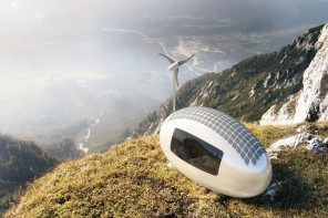 "Solar-Powered ""Capsule"" Lets You Live Off-the-Grid Anywhere in the World"