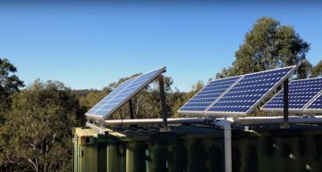"Video Tour: Off-Grid Shipping Container Home ""Down Under"""