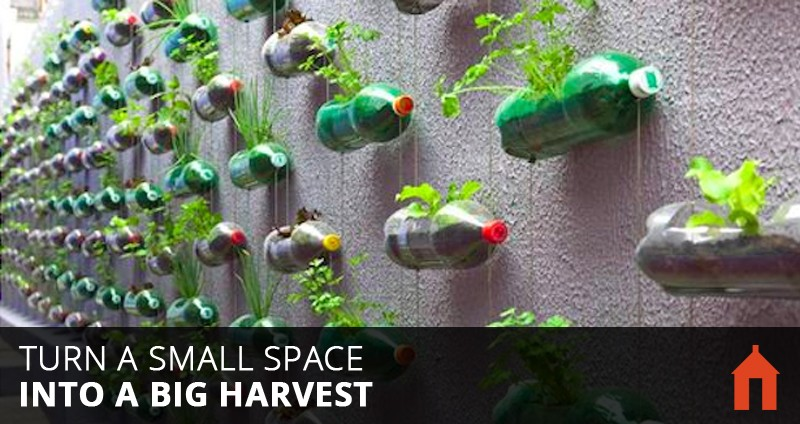 Vertical Garden Design Ideas ... 20 Vertical Gardening Ideas for Turning a Small Space into a Big Harvest